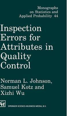 Inspection Errors for Attributes in Quality Control by Norman Lloyd Johnson