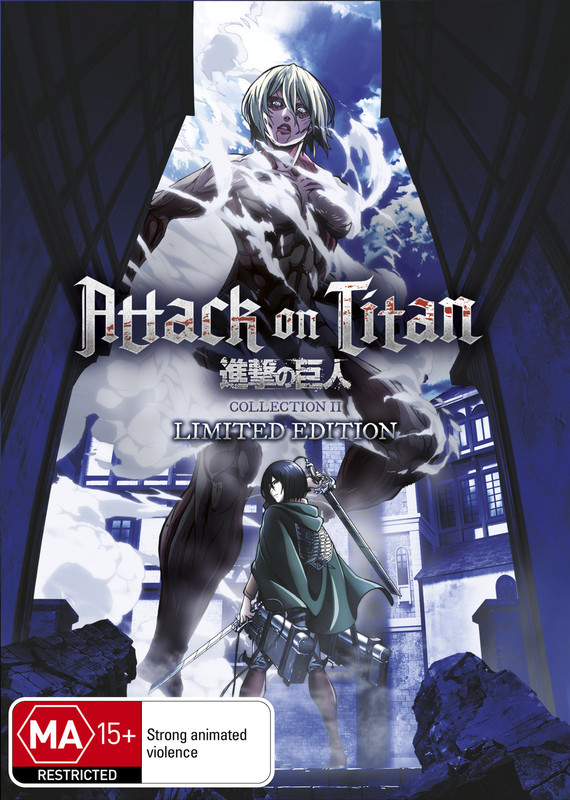 Attack on Titan - Collection 2 (Limited Edition) on DVD