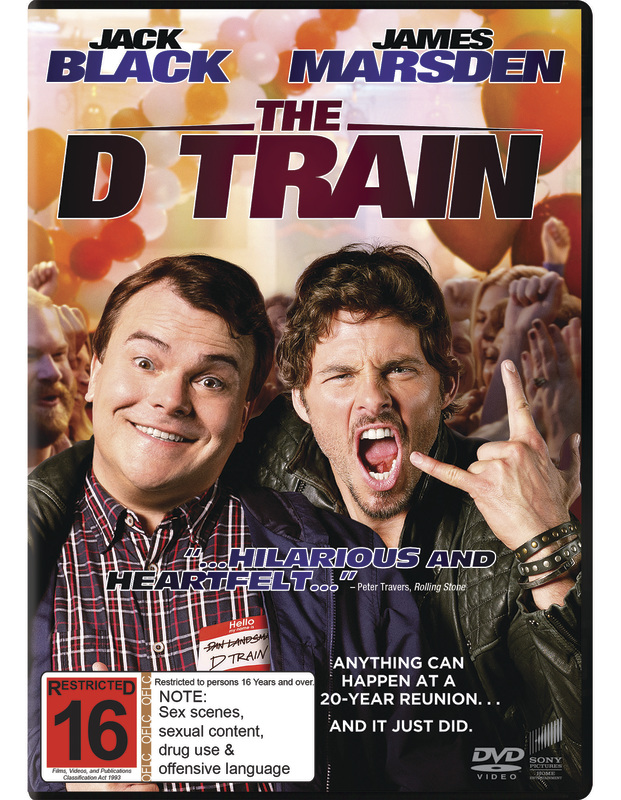 The D Train on DVD