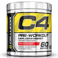 Cellucor C4 Gen4 Pre-Workout - Fruit Punch (60 Servings)
