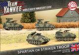 Flames of War: Team Yankee - Spartan/Striker Platoon