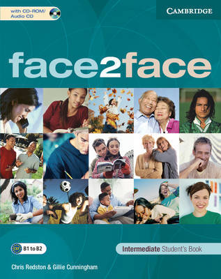 face2face Intermediate Student's Book with CD-ROM/Audio CD by Chris Redston image
