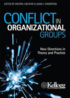 Conflict in Organiztional Groups by Kellogg image