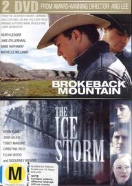 Brokeback Mountain / Ice Storm (2 Disc Set) on DVD image
