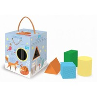Sassi Junior: Good Night Cube - Shape Sorting Box