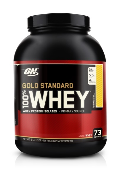 Optimum Nutrition Gold Standard 100% Whey - Banana Cream (2.27kg)