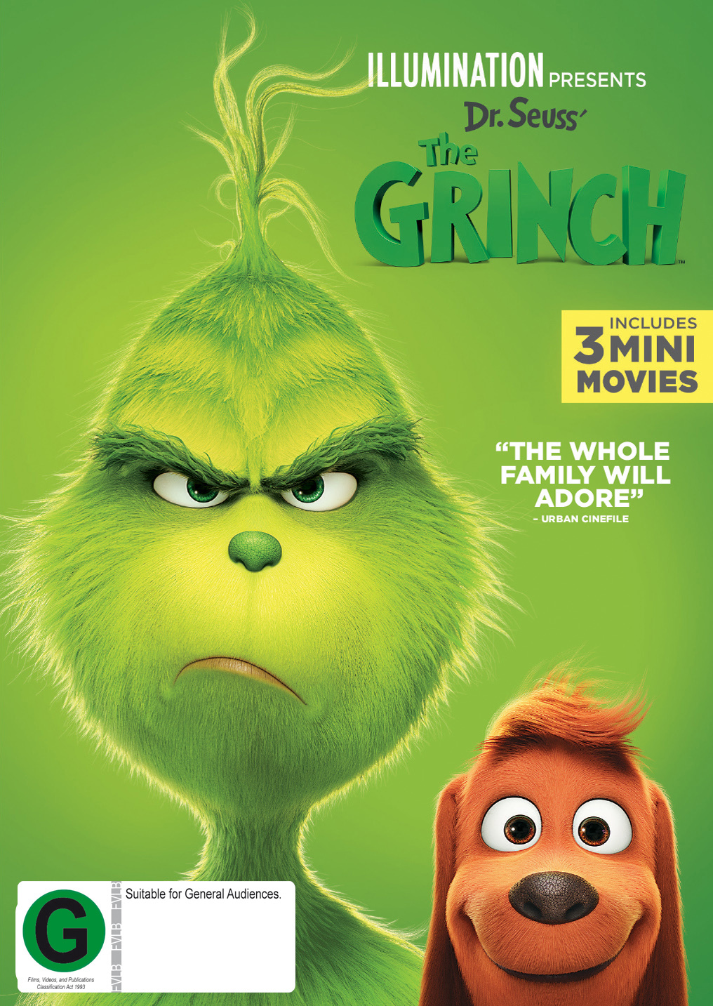 The Grinch on DVD image