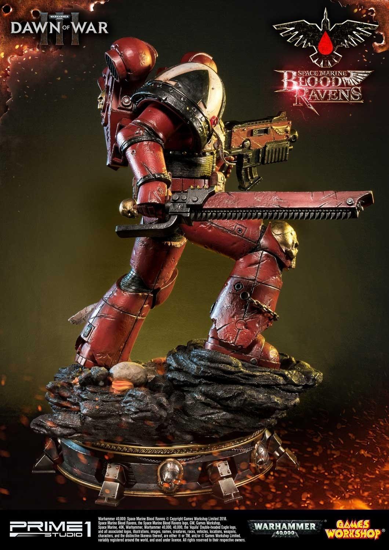 "Blood Ravens Space Marine (Deluxe Ver.) - 28"" Premium Statue image"