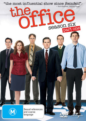 The Office (US) Season 6 Part 1 on DVD image