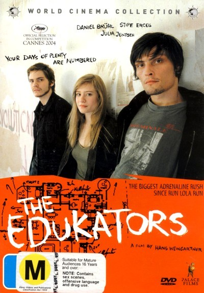 The Edukators on DVD