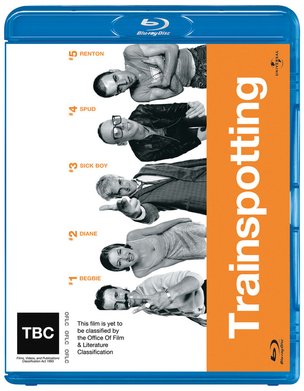 Trainspotting on Blu-ray