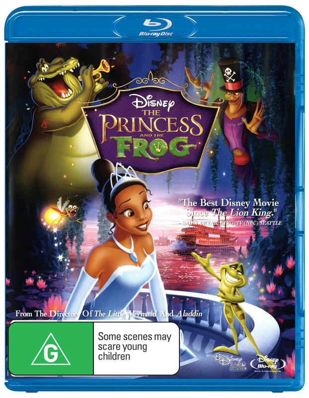 The Princess and the Frog on Blu-ray