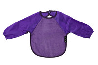 Mum 2 Mum Sleeved Wonder Bib (18-36 Months) - Purple