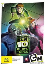 Ben 10: Alien Force - Vol. 9 on DVD