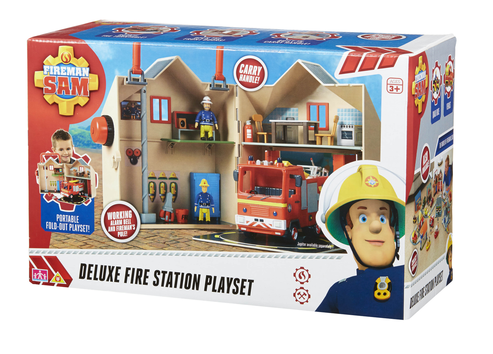 ... Fireman Sam Deluxe Fire Station Playset image ...  sc 1 st  Mighty Ape & Fireman Sam Deluxe Fire Station Playset | Toy | at Mighty Ape NZ