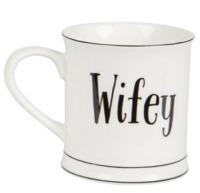 Wifey - Typography Mug