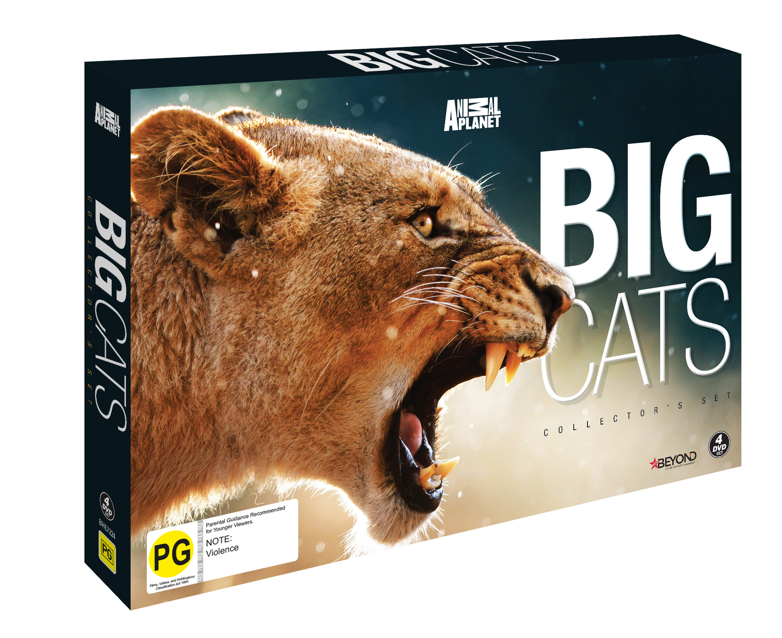 Big Cats Collector's Set on DVD image