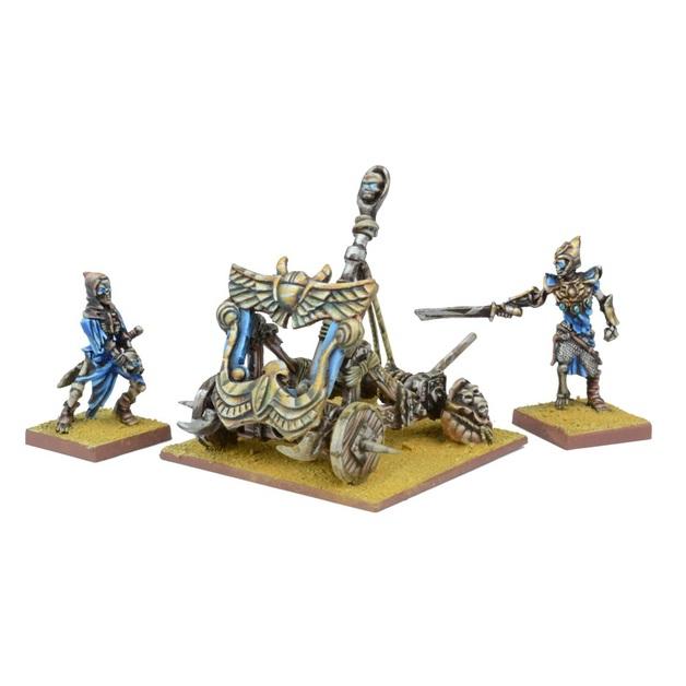 Kings of War Empire of Dust Balefire Catapult