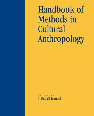 Handbook of Methods in Cultural Anthropology image