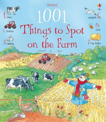 1001 Things to Spot on the Farm by Gillian Doherty image