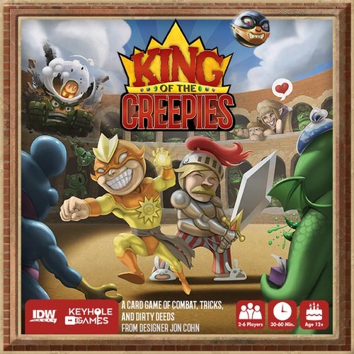 King of the Creepies - Board Game image