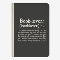 Legami: A6 Lined Notebook - Booklover