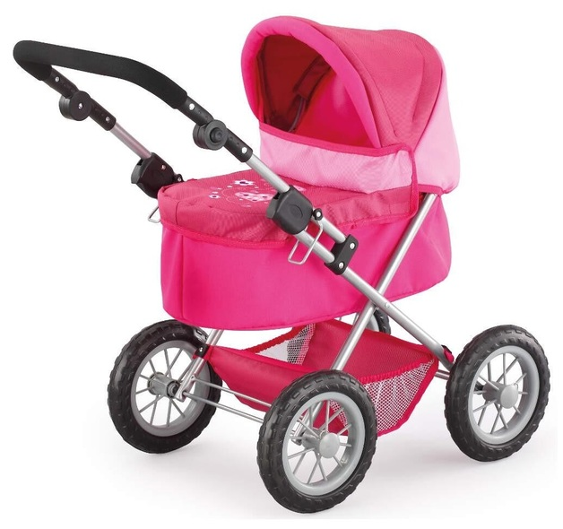 Bayer: Trendy Dolls Pram - Pink