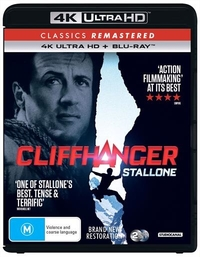 Cliffhanger on UHD Blu-ray