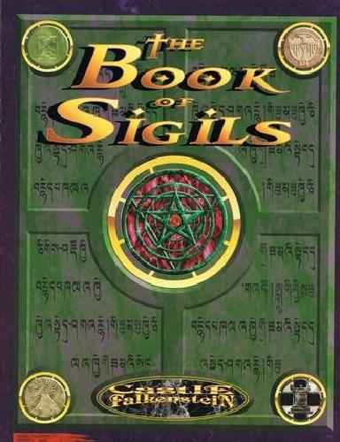Castle Falkenstein: Book of Sigils - RPG Rulebook