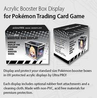 Ultra Pro: Pokemon Booster Box - Acrylic Display