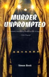 Murder Unprompted: A Crime Novel by Simon Brett image