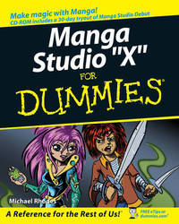Manga Studio For Dummies by Doug Hills