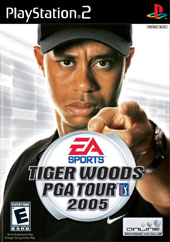 Tiger Woods 2005 for PlayStation 2