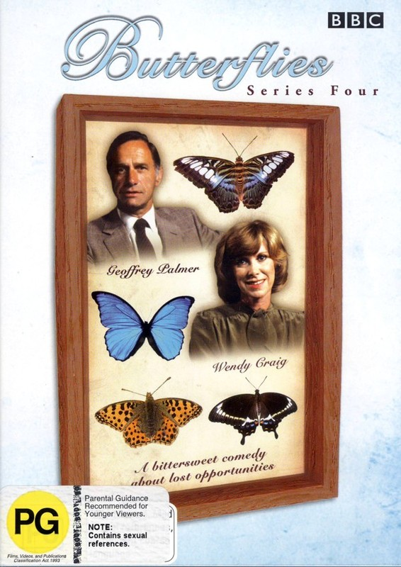 Butterflies - Series 4 (2 Disc Set) on DVD