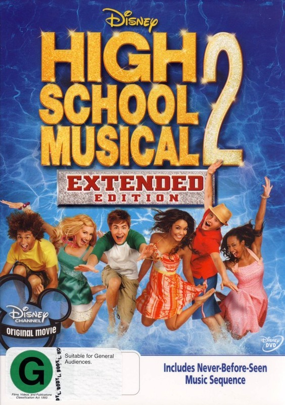High School Musical 2 - Extended Edition on DVD