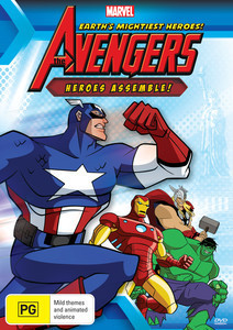 The Avengers: Heroes Assemble on DVD image
