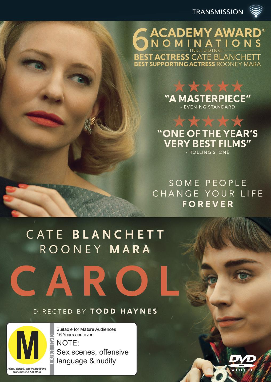 Carol on DVD image