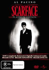 Scarface - Platinum Edition (2 Disc Set) on DVD