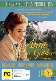Anne Of Green Gables - The Sequel on DVD image