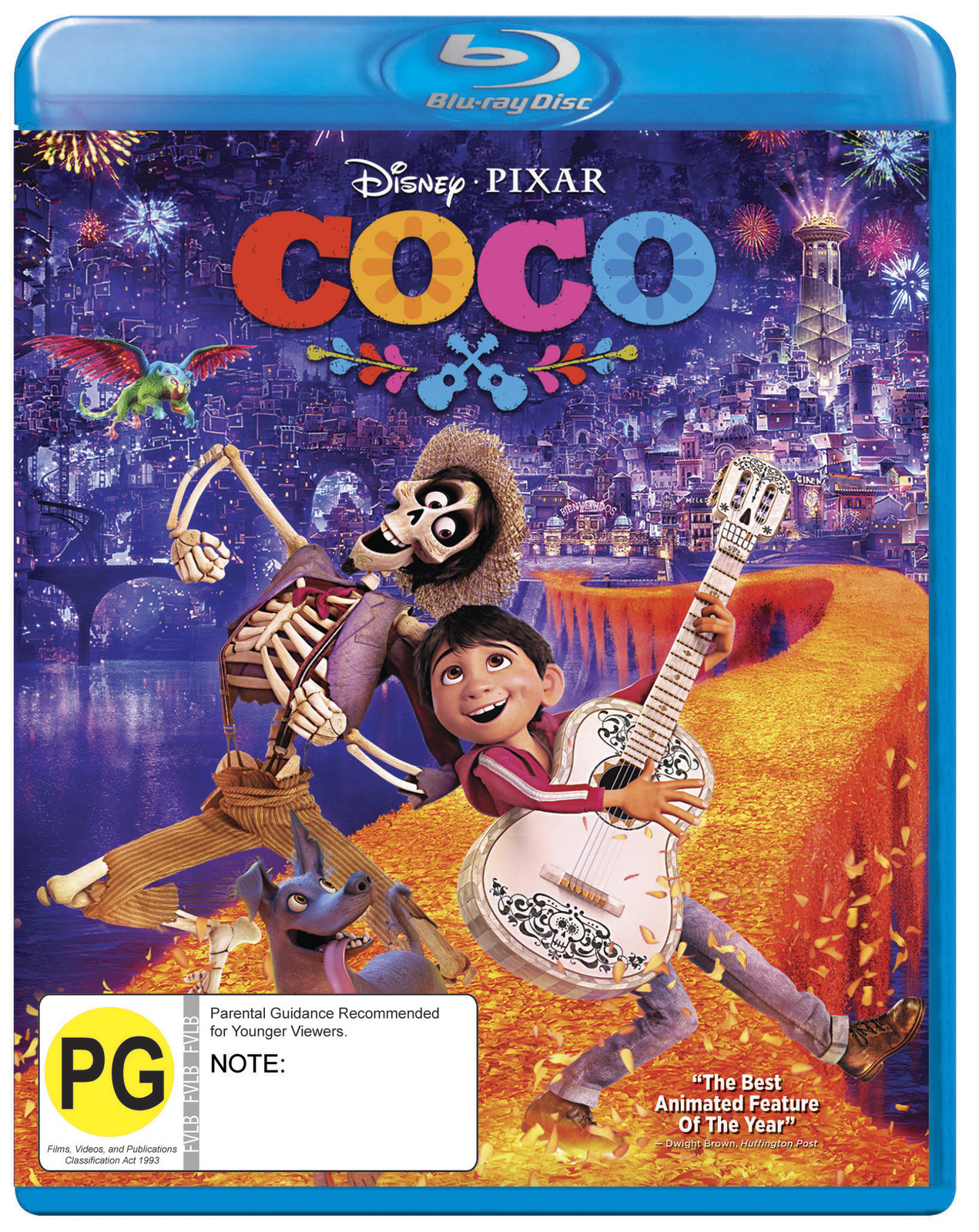 Coco (2017) on Blu-ray image