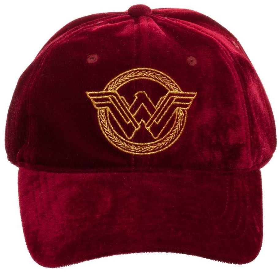 21a9b96978fef1 ... DC Comics: Wonder Woman - Embroidered Wreath Icon Cap image ...