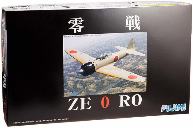 Fujimi: 1/48 Mitsubishi Zero Fighter Type 21 - Model Kit