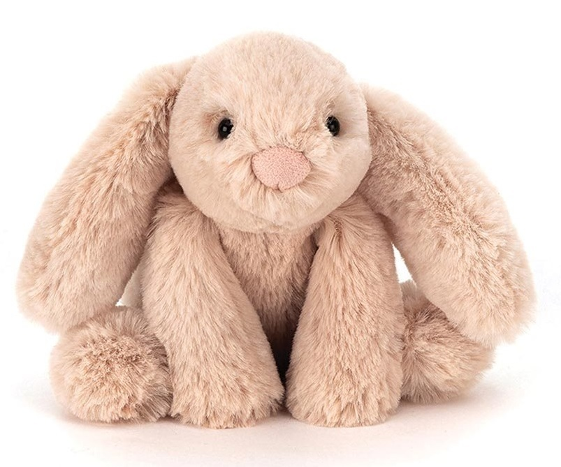 "Smudge Beige Rabbit - 12"" Tiny Plush image"