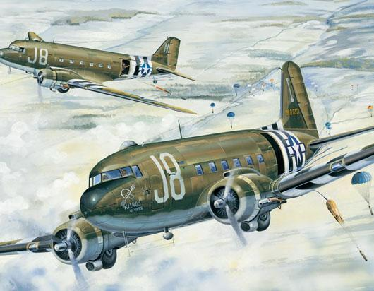 Trumpeter: C-47A Skytrain - 1/48 Scale Model Kit