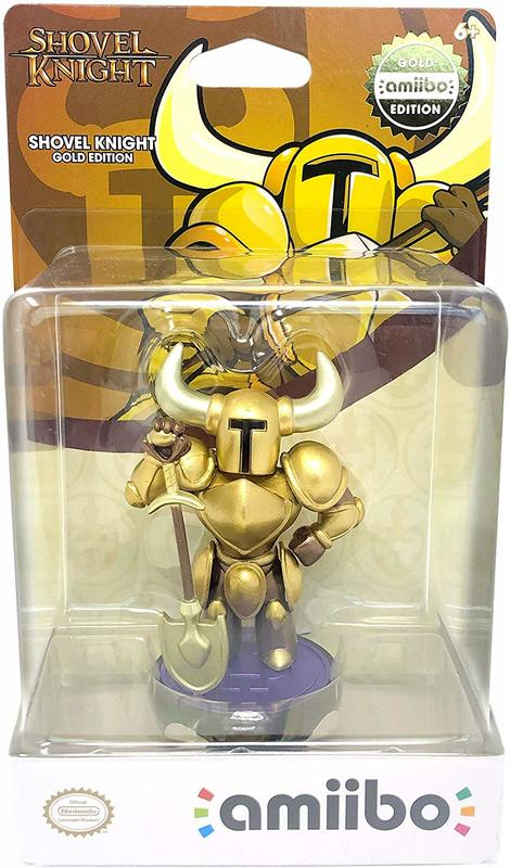 Nintendo Amiibo Shovel Knight Gold Edition for Switch