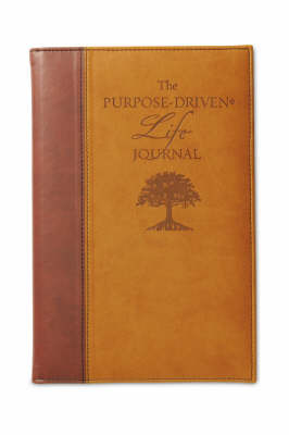 The Purpose Driven Life Deluxe Journal by Rick Warren image