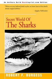Secret World of the Sharks by Robert F. Burgess image