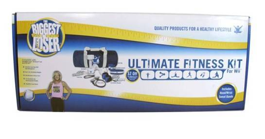 The Biggest Loser Ultimate Fitness Kit for Nintendo Wii