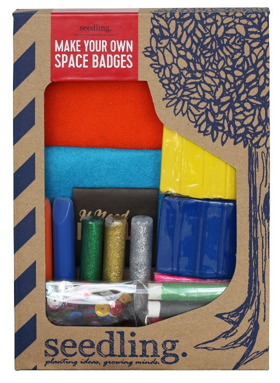 Seedling: Make Your Own Space Badges image