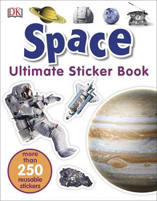 Space Ultimate Sticker Book by DK image